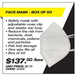 Leadsafe - Face Mask Box of 50
